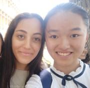נערה מסין ונערה מישראל