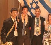 מדליה באולימפיאדת הכימיה לנדב גנוסר, תלמיד תכנית הנשיא לטיפוח מדעני וממציאי העתיד