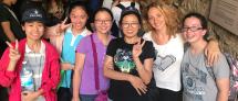 תלמידות ישראליות וסיניות