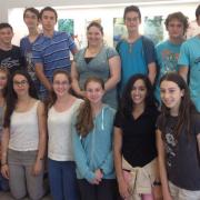 """סיור תלמידי מסלול ביומד בתכנית מדעני וממציאי העתיד בחברת """"פלוריסטם"""""""